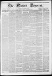 The Oxford Democrat: Vol. 12-, No. 9 March 29,1861