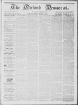 The Oxford Democrat: Vol. 14, No. 9 - March 27,1863