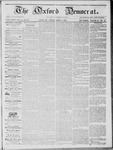 The Oxford Democrat: Vol. 14, No. 10 - April 03,1863