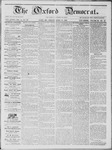 The Oxford Democrat: Vol. 14, No. 13 - April 24,1863