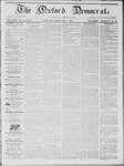 The Oxford Democrat: Vol. 14, No. 14 - May 01,1863