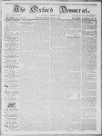 The Oxford Democrat: Vol. 14, No. 27 - July 31,1863