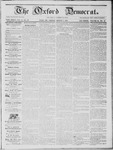 The Oxford Democrat: Vol. 14, No. 28 - August 07,1863