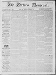 The Oxford Democrat: Vol. 14, No. 40 - October 30,1863