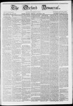 The Oxford Democrat: Vol. 12 -, No. 27 - August 02,1861
