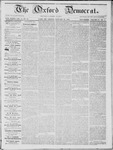 The Oxford Democrat; Vol. 14, No. 51 - January 15,1864