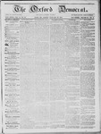 The Oxford Democrat; Vol. 14, No. 52 - January 22,1864