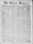 The Oxford Democrat: Vol. 15, No. 12 - April 15,1864
