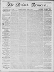 The Oxford Democrat: Vol. 15, No. 13 - April 22,1864