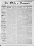 The Oxford Democrat: Vol. 15, No. 18 - May 27,1864