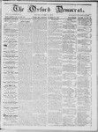 The Oxford Democrat: Vol. 15, No. 37 - October 14,1864