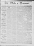 The Oxford Democrat: Vol. 15, No. 41 - November 11,1864