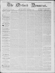 The Oxford Democrat: Vol. 15, No. 42 - November 18,1864