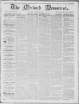 The Oxford Democrat: Vol. 15, No. 43 - November 25,1864