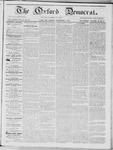 The Oxford Democrat: Vol. 15, No. 44 - December 02,1864