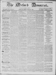 The Oxford Democrat: Vol. 16, No. 10 - March 31,1865