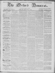 The Oxford Democrat: Vol. 16, No. 15 - May 05,1865