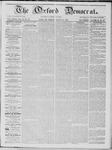 The Oxford Democrat: Vol. 16, No. 29 - August 11,1865