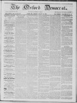 The Oxford Democrat: Vol. 16, No. 30 - August 18,1865