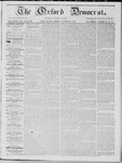 The Oxford Democrat: Vol. 16, No. 39 - October 20,1865