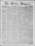 The Oxford Democrat: Vol. 18, No. 30 - August 16,1867