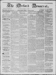 The Oxford Democrat: Vol. 18, No. 31 - August 23,1867