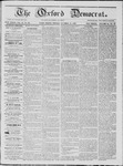 The Oxford Democrat: Vol. 18, No. 39 - October 18,1867