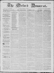 The Oxford Democrat: Vol. 18, No. 43 - November 15,1867