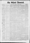 The Oxford Democrat: Vol. 36, No. 50 - January 01,1870