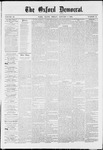 The Oxford Democrat: Vol. 36, No. 51 - January 07,1870