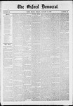 The Oxford Democrat: Vol. 36, No. 52 - January 14,1870