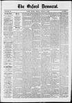 The Oxford Democrat: Vol. 37, No. 7 - March 04,1870