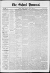 The Oxford Democrat: Vol. 37, No. 10 - March 25,1870
