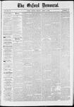 The Oxford Democrat: Vol. 37, No. 11 - April 01,1870