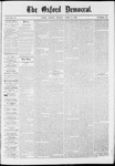 The Oxford Democrat: Vol. 37, No. 12 - April 08,1870