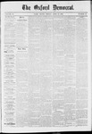 The Oxford Democrat: Vol. 37, No. 13 - April 15,1870