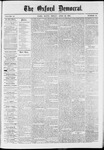 The Oxford Democrat: Vol. 37, No. 14 - April 22,1870