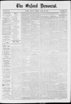 The Oxford Democrat: Vol. 37, No. 15 - April 29,1870