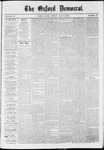The Oxford Democrat: Vol. 37, No. 16 - May 06,1870