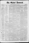 The Oxford Democrat: Vol. 37, No. 17 - May 13,1870