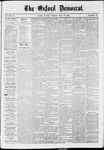 The Oxford Democrat: Vol. 37, No. 19 - May 27,1870