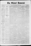 The Oxford Democrat: Vol. 37, No. 20 - June 03,1870