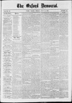 The Oxford Democrat: Vol. 37, No. 26 - July 15,1870