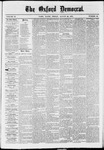 The Oxford Democrat: Vol. 37, No. 32 - August 26,1870