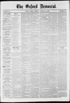 The Oxford Democrat: Vol. 37, No. 39 - October 14,1870
