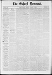 The Oxford Democrat: Vol. 37, No. 40 - October 21,1870