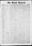 The Oxford Democrat: Vol. 37, No. 42 - November 04,1870