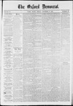 The Oxford Democrat: Vol. 37, No. 43 - November 10,1870