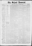 The Oxford Democrat: Vol. 37, No. 45 - November 25,1870