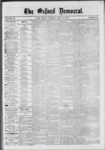 The Oxford Democrat: Vol. 39, No.13 - April 16, 1872